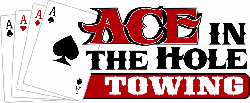 Ace In The Hole Towing offers emergency roadside service of all types, from help changing a flat tire to a pull from one of our tow truck to get you out of a ditch. Call us anytime if you need help.
