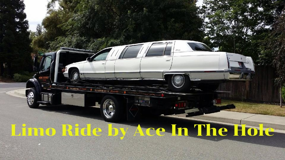 If it's a Limo Near Me that stops running, you want a Tow Service Near Me that can get to you quickly. Ace in the Hole Towing can get your limo moving. Call 24/7 if you need a Tow Truck.